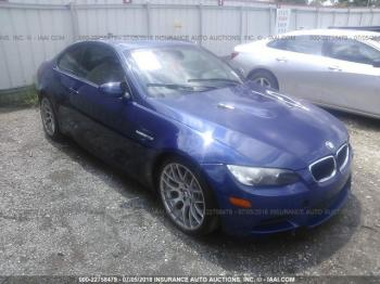 Salvage BMW M3